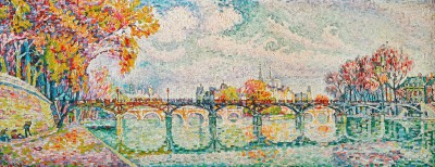 Le Pont des Arts Paris - Paul Signac