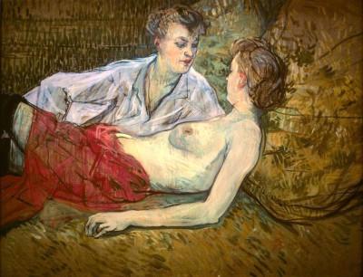 Les deux amies (2) - Henri de Toulouse-Lautrec