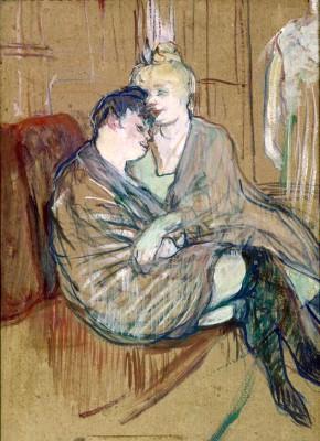Les deux amies - Henri de Toulouse-Lautrec