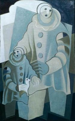 Les deux Pierrots - Juan Gris