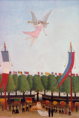 Libert Inviting Artists - Henri Rousseau
