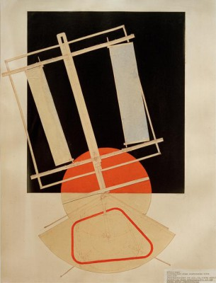 Lighting re-acquisition of an electric stage - László Moholy-Nagy