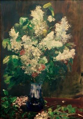 Lilac Bouquet - Lesser Ury