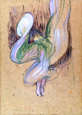 Loïe Fuller in den Folies Bergère - Henri de Toulouse-Lautrec