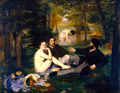 Lunch on the Grass - Édouard Manet