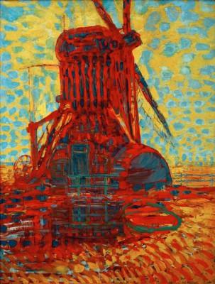 Mühle im Sonnenlicht - Piet Mondrian