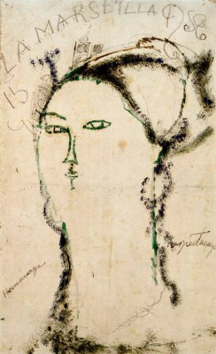 Madame Othon Friesz - Amedeo Modigliani