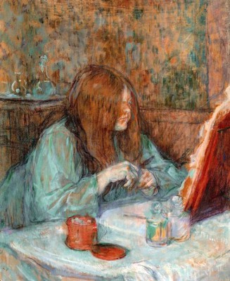 Madame Poupoule à sa toilette - Henri de Toulouse-Lautrec