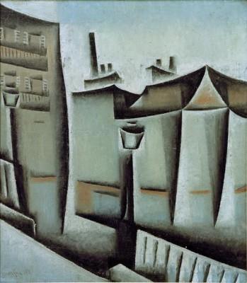 Maisons à Paris - Juan Gris