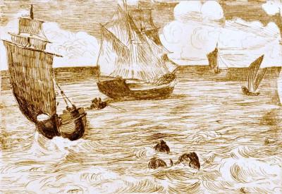 Marine - Édouard Manet
