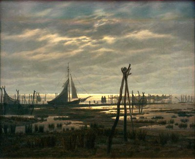 Marshy Beach - Caspar David Friedrich
