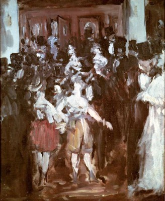 Masked ball at the Opéra - Édouard Manet
