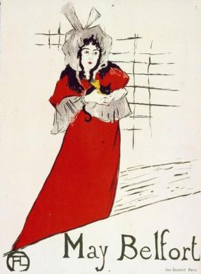 May Belfort - Henri de Toulouse-Lautrec