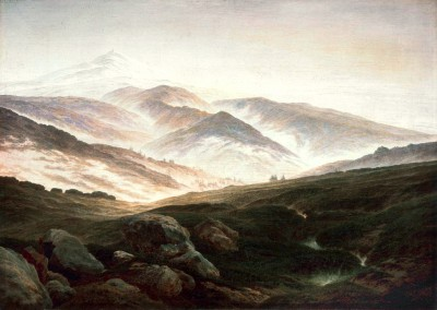 Memories of the Giant Mountains - Caspar David Friedrich