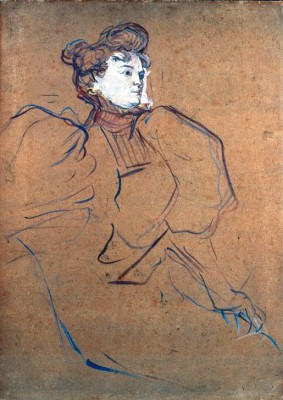 Misia Natanson - Henri de Toulouse-Lautrec