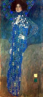 MISS EMILIE FLOEGE KLIMT 1902 - Gustav Klimt