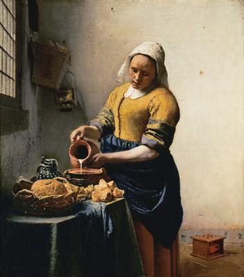 Mleczarka - Jan Vermeer