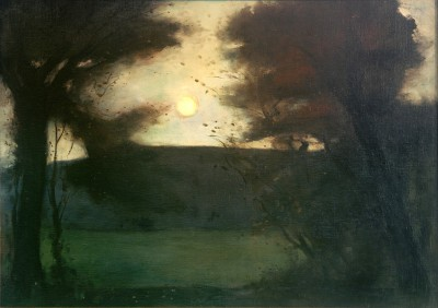 Moon landscape - Lesser Ury
