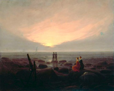 Moonrise by the Sea - Caspar David Friedrich