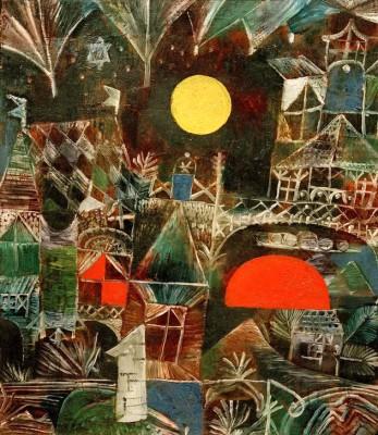 Moonrise-Sunset - Paul Klee