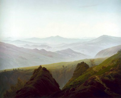 Morning in the mountains - Caspar David Friedrich