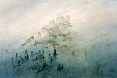 Morning mist in the mountains - Caspar David Friedrich
