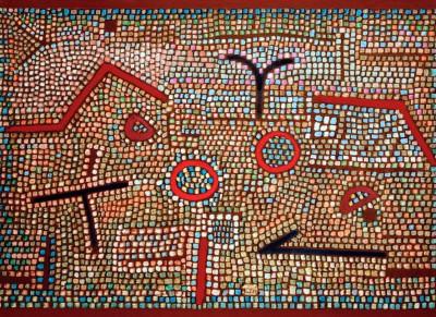 Mosaik aus Prhun - Paul Klee