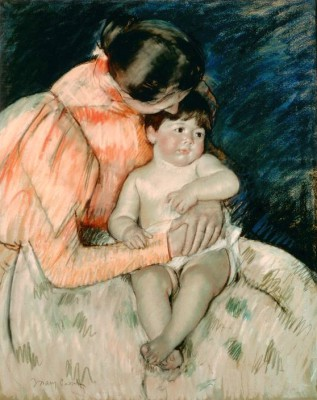 Mother and Child (2) - Mary Cassatt