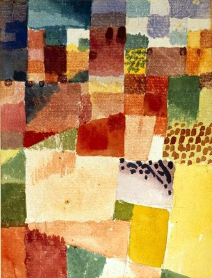 Motiv aus Hamammet - Paul Klee