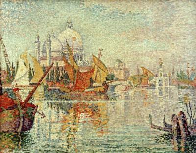 Mouillage de la Giudecca (Venise) - Paul Signac