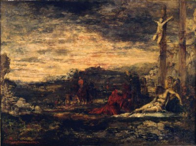 Mount Calvary - Gustave Moreau