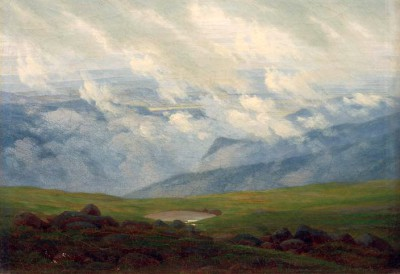 Moving Clouds - Caspar David Friedrich