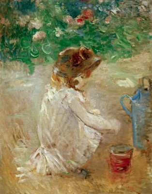 Mud pie - Berthe Morisot