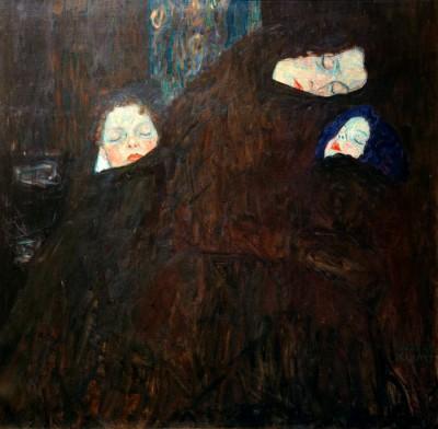 MUTTER MIT KINDERN - Gustav Klimt