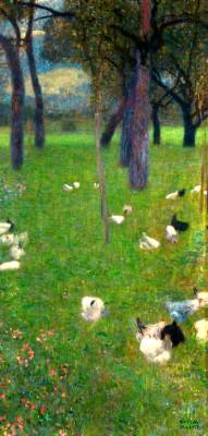 NACH DEM REGEN - Gustav Klimt