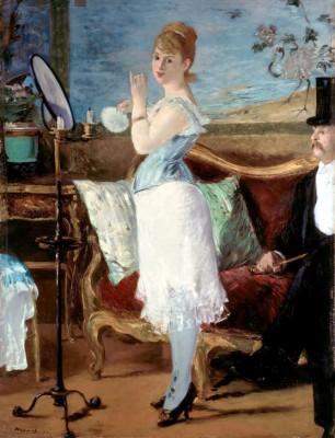 Nana - Édouard Manet