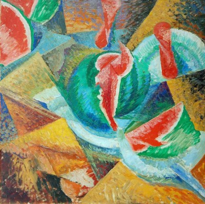 Natural Death, Watermelon - Umberto Boccioni