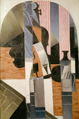 Nature morte. Le violon - Juan Gris