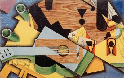 Nature morte à la guitare - Juan Gris