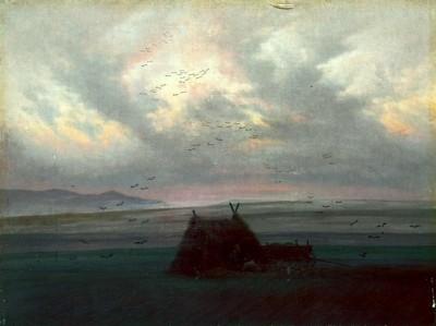 Nebelschwaden - Caspar David Friedrich