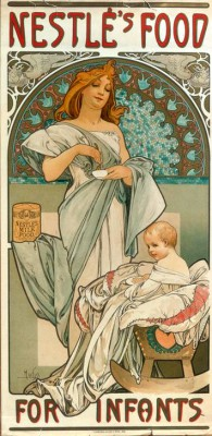 Nestlé's Food for Infants - Alfons Mucha