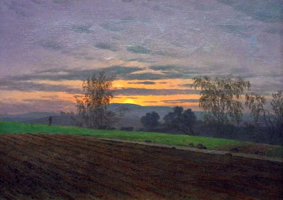 New ploughed field - Caspar David Friedrich