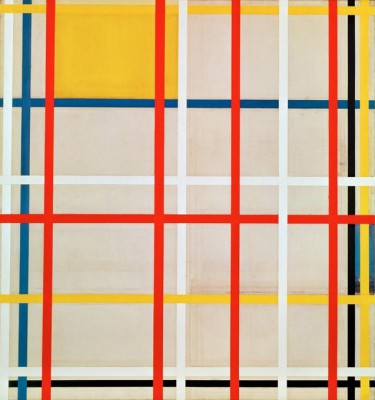 New York City (2) - Piet Mondrian