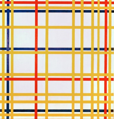New York City - Piet Mondrian