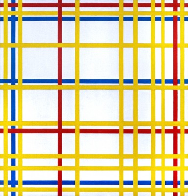 New York City; New York City I - Piet Mondrian