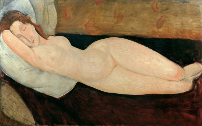 Nu couché - Amedeo Modigliani