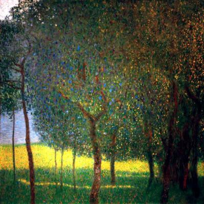 OBSTBÄUME AM ATTERSEE - Gustav Klimt