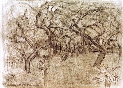 Obstgarten - Piet Mondrian