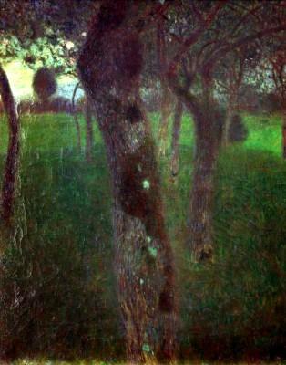 OBSTGARTEN AM ABEND (OBSTGARTEN. ABEND) - Gustav Klimt