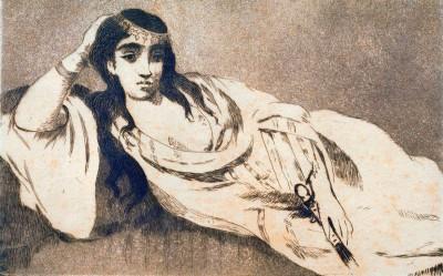 Odalisque - Édouard Manet